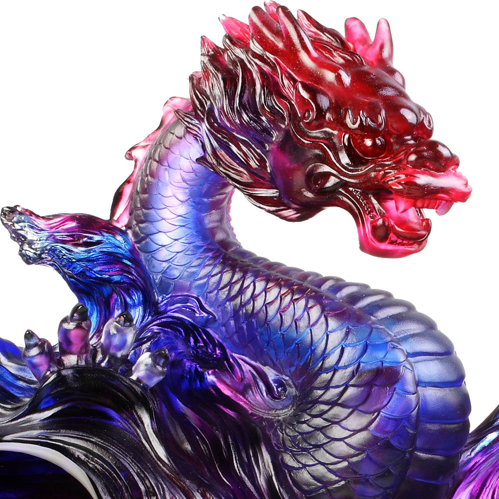 Celestial Dragon (Encouragement) - Dragon of Evolution - LIULI Crystal Art