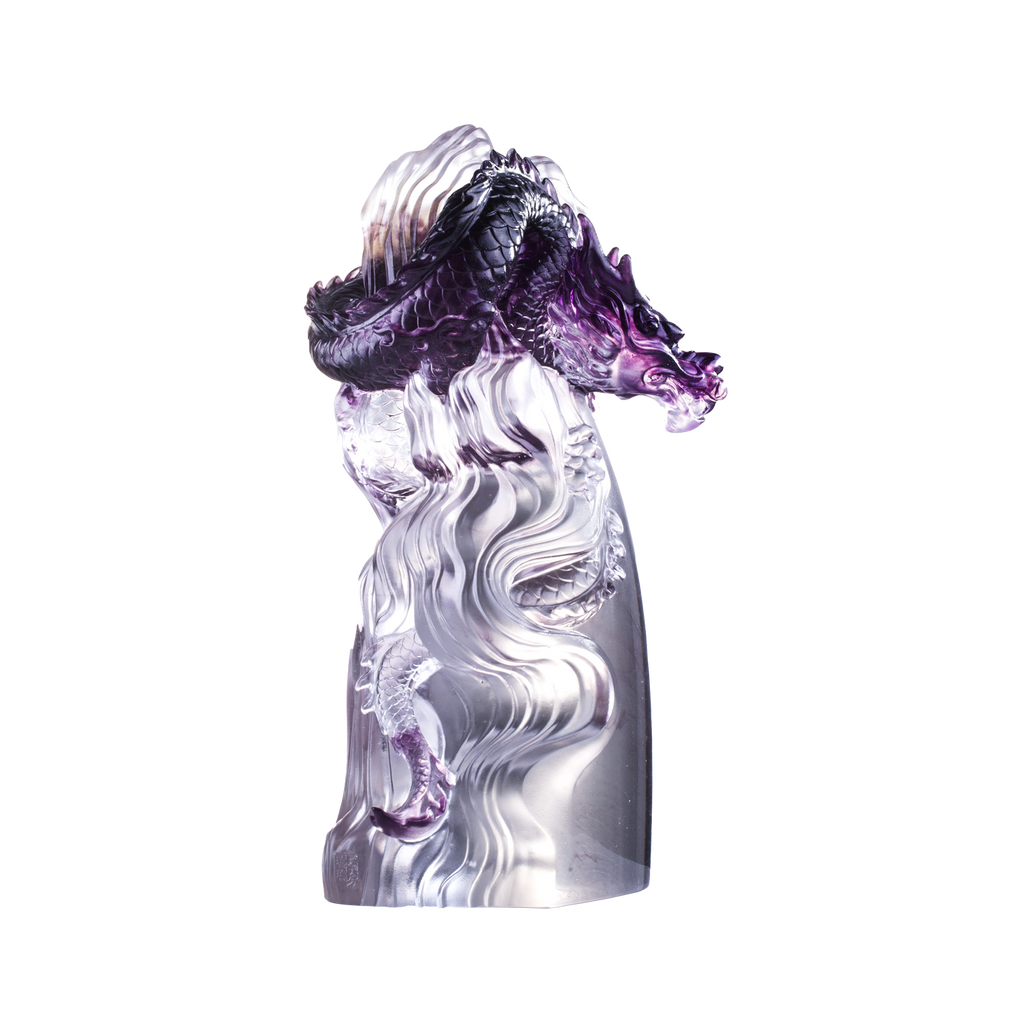 Dragon of Invincible (Unstoppable) - A Call From the Highest Heavens - LIULI Crystal Art