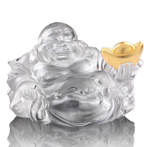 Happy Belly Buddha (Fortune & Wealth) - Come Joy and Fortune