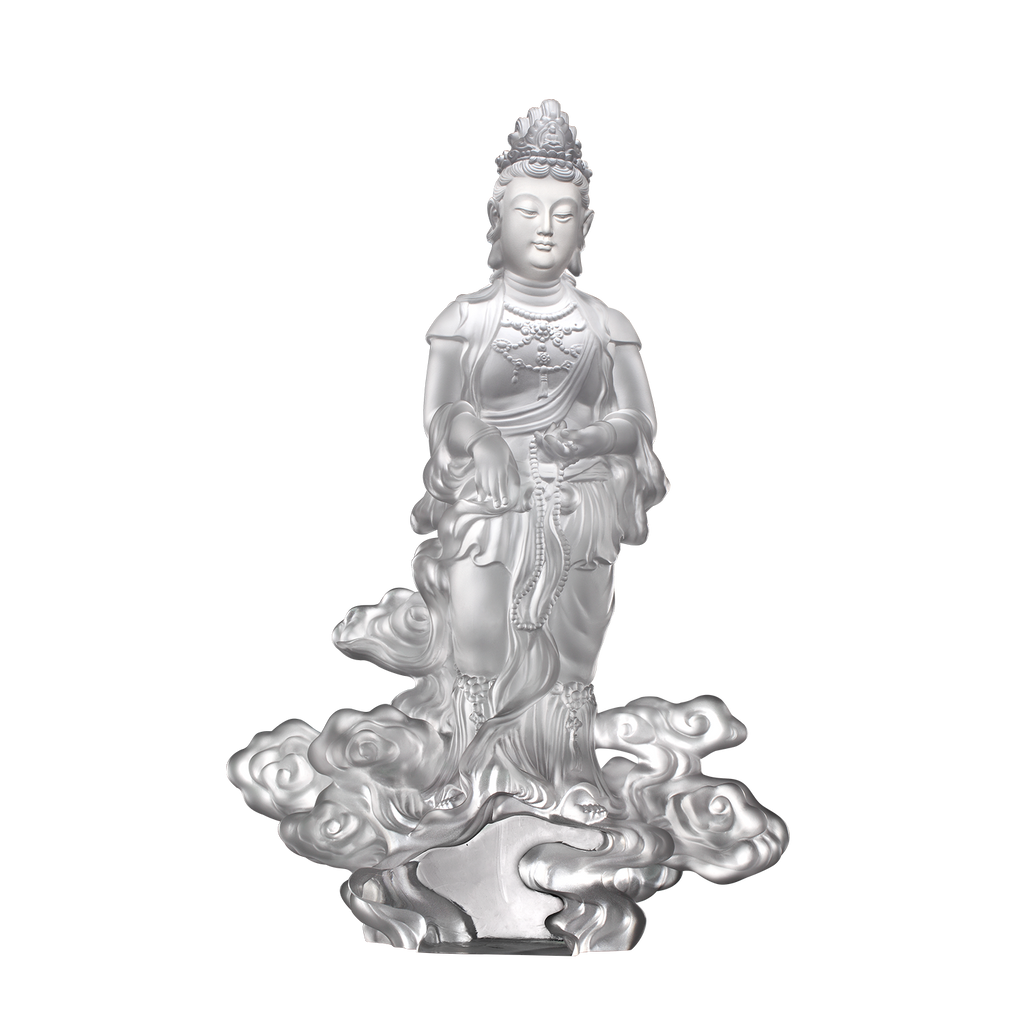 Wishes Fulfilled (Guanyin) - Light Exists Because of Love - LIULI Crystal Art - [variant_title].
