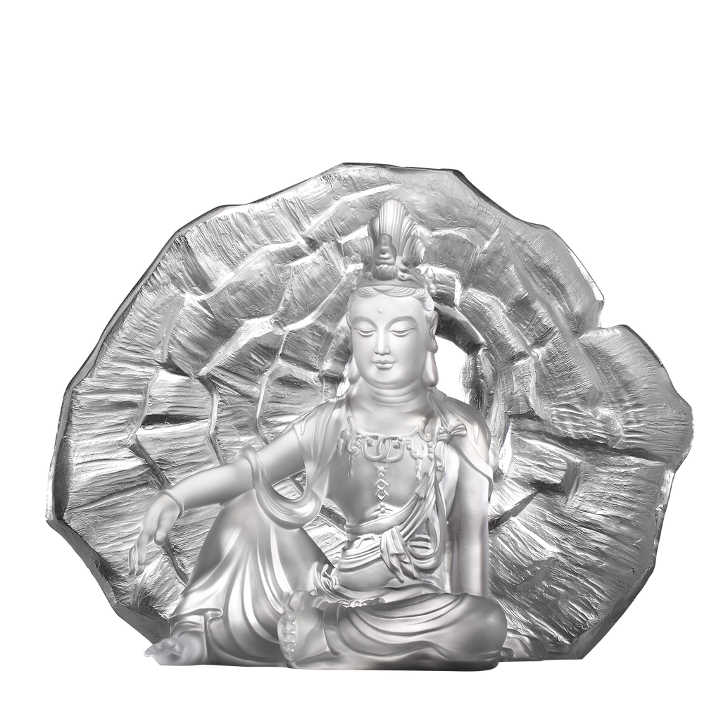 Wondrous Illumination (Guanyin) - Light Exists Because of Love - LIULI Crystal Art - [variant_title].
