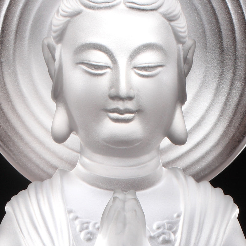 Crystal Buddha, Hechang Guanyin, Wish (Special Edition) - LIULI Crystal Art