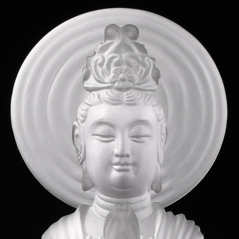 Crystal Buddha, Hechang Guanyin, Light Exists Because of Love-Wish (Collector's Edition) - LIULI Crystal Art
