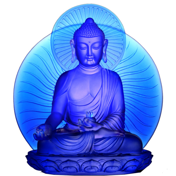 Wishes for Sentient Beings, Blue Medicine Buddha