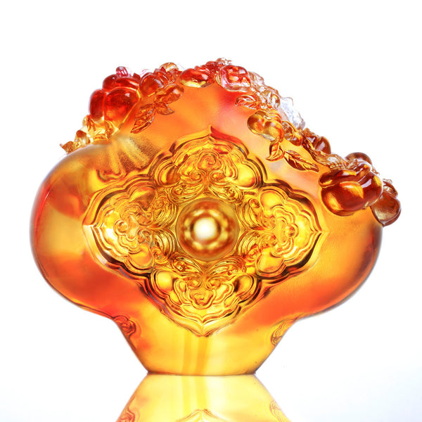 Harmonious Beauty (Contentment) - The Beauty of Harmony - LIULI Crystal Art | Collectible Glass Art