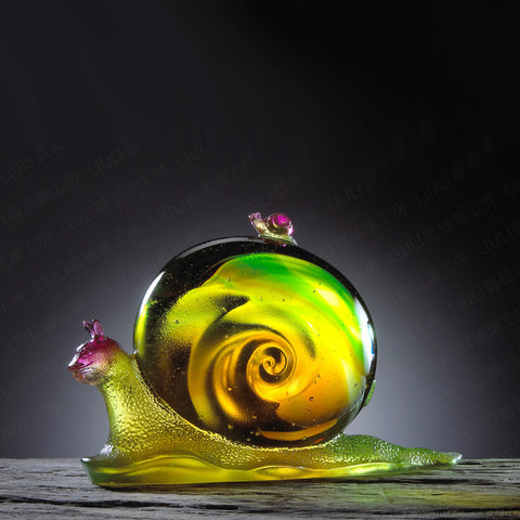 Snail Figurine (Friendship) - Thank You For Looking After Me