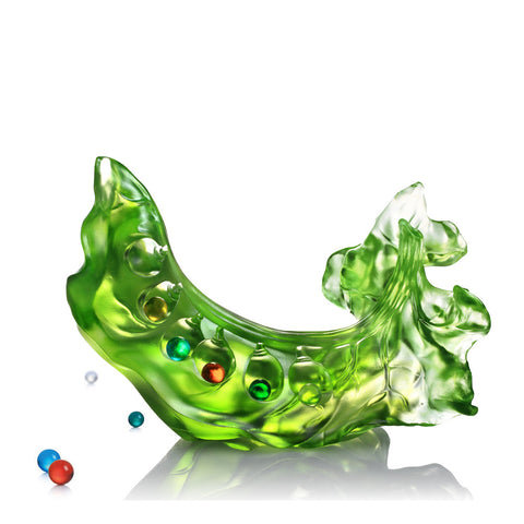 "Pea Figurine (Vitality) - ""Beauty Within"""