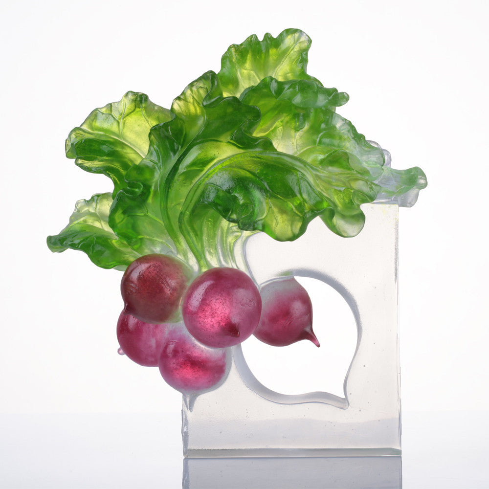 Crystal Radish, The Heart of Our Great Land - LIULI Crystal Art - [variant_title].