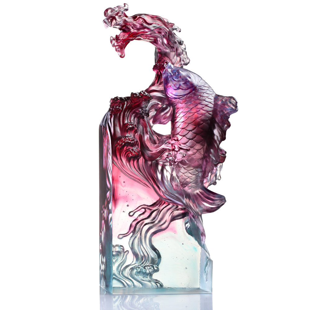 Rising Into the Heavens (Prosperity) - Dragon-Fish, Auspicious Mythical Creature