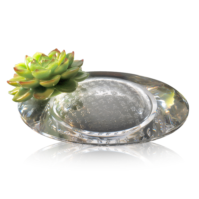 -- DELETED -- Crystal Flower, Spring of The Houseleek (Collector's Edition) - LIULI Crystal Art