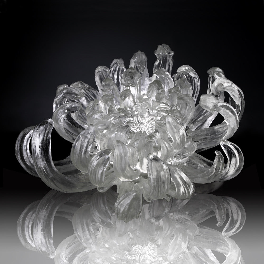 Chrysanthemum Dance - The Proof of Awareness (Collector's Edition) - LIULI Crystal Art
