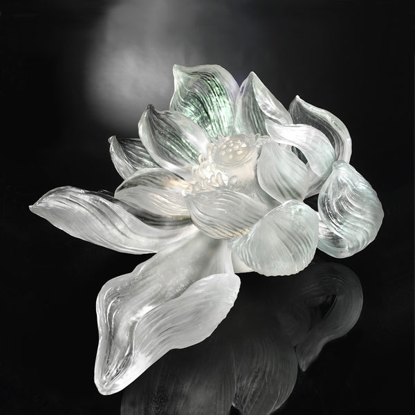Lotus Consciousness - The Proof of Awareness (Collector's Edition) - LIULI Crystal Art | Collectible Glass Art