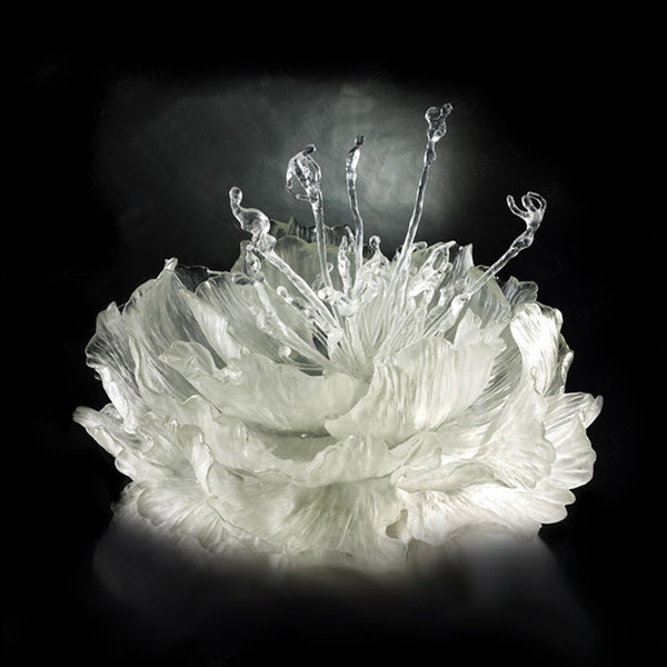 Springtime Dance - The Proof of Awareness (Collector's Edition) - LIULI Crystal Art | Collectible Glass Art