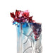 Peony Flower Figurine (Determination) - Flourish with Intent - LIULI Crystal Art | Collectible Glass Art