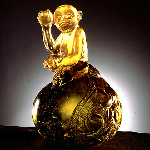 "Monkey Figurine (Longevity) - ""Fruits of Reality"""