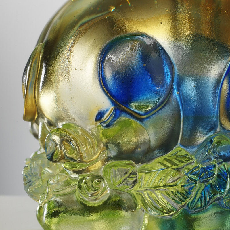 Luck in All Corners (Promote Luck & Wealth) - Pig Figurine, Paperweight - LIULI Crystal Art - [variant_title].