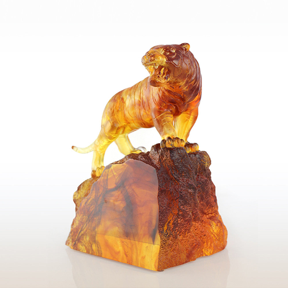Crystal Tiger Figurine (Fearless) - The King's Ascending