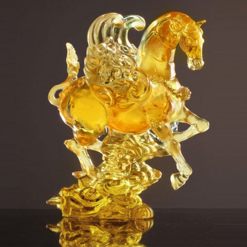 "Horse Figurine (Sumptuous Beauty) - ""The Cloud-Riding King Steed"" (Special Edition)"