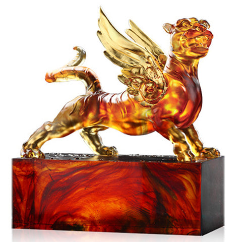 Tiger Figurine (Success) - Heavenly Wings of the Tiger