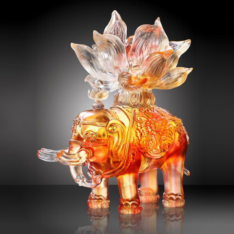"Elephant Figurine (Fortune) - ""Elephant of Fortune"""