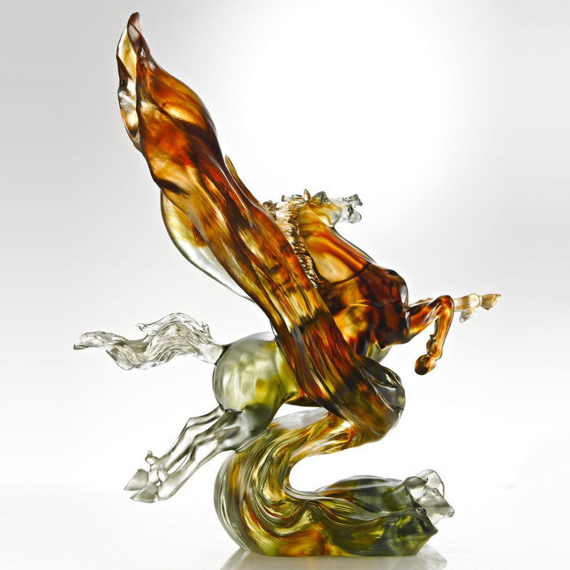 Victory from the Start (Victory) - Horse Figurine - LIULI Crystal Art - [variant_title].