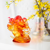 Crystal Animal, Mice, Mouse, Year of the Rat, An Auspicious Delivery - LIULI Crystal Art