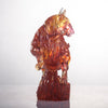 LIULI Crystal Year of the Ox Sculpture Easterly Winds