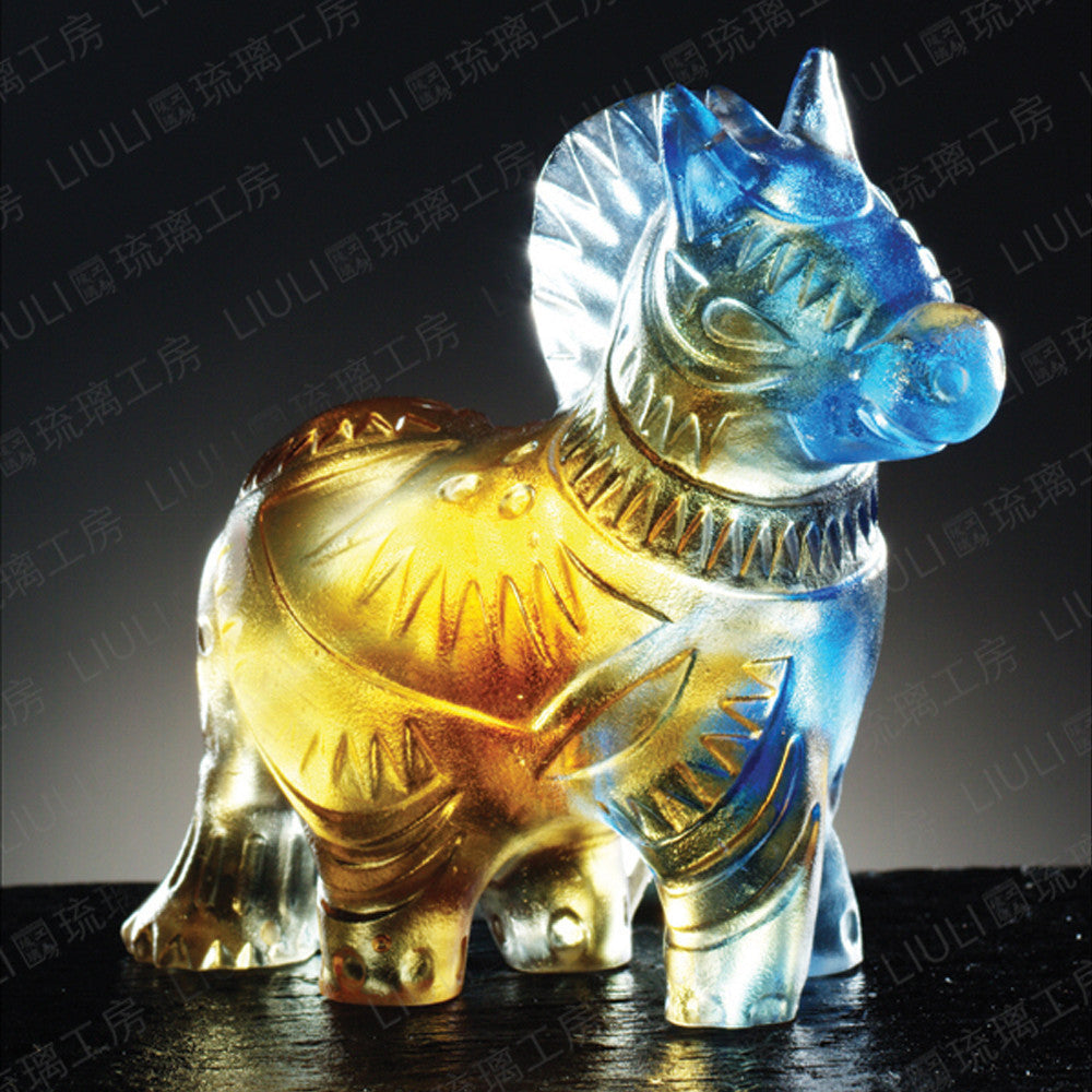 Zodiac Collection - Is the Child in the Heart Still There? (Set of 12) - LIULI Crystal Art