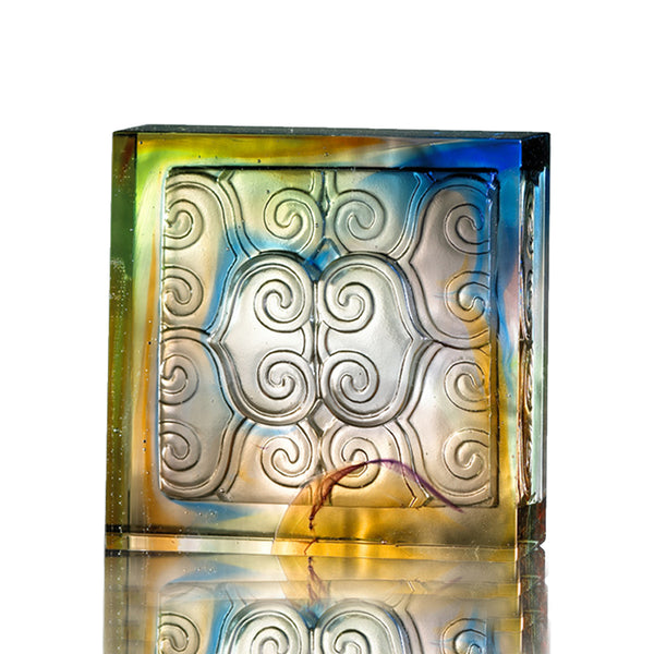 Chinese Element (Auspicious) - Envelop With Light - LIULI Crystal Art