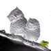 This Lifetime - Lanyu Scops Owl (Behold Our Legacy of Love) - LIULI Crystal Art | Collectible Glass Art