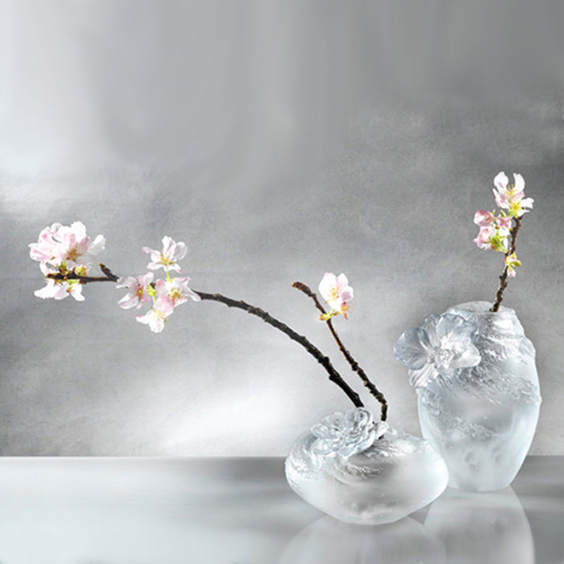 A Fresh and Wonderful Blessing - Peach Blossom - Flower Figurine (Symbolize Happiness) - LIULI Crystal Art - [variant_title].