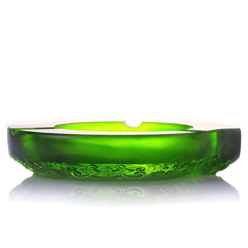 Smoke Plume Dance (Ashtray for Cigar) - LIULI Crystal Art - [variant_title].