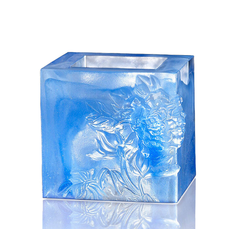 Crystal Candle Holder, Votive Candleholder, Heavenly Splendor (Small) - LIULI Crystal Art
