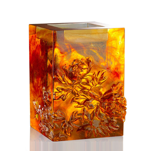 Candle Holder - Heavenly Splendor (Medium Size) - LIULI Crystal Art