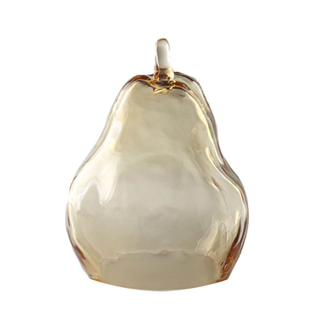 Big Pear (Auspicious Fruit), Tableware Home Decor - LIULI Crystal Art