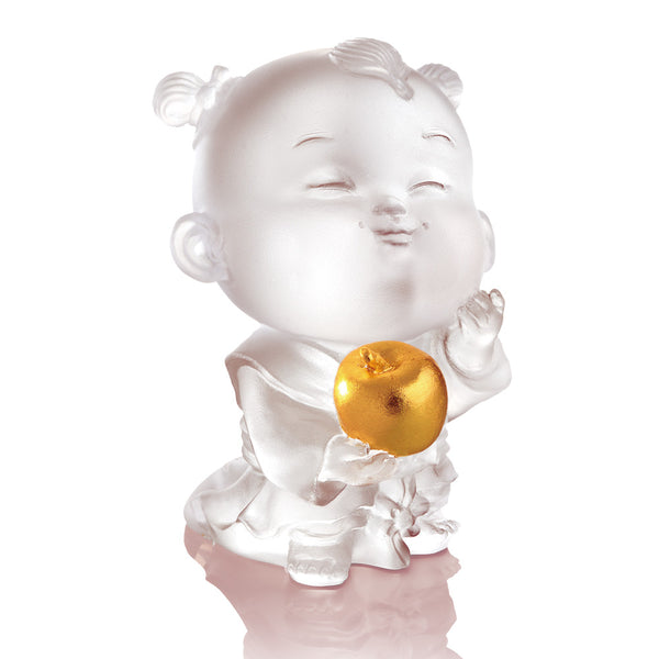 Doll of Peace Loving - Baby Peace - LIULI Crystal Art