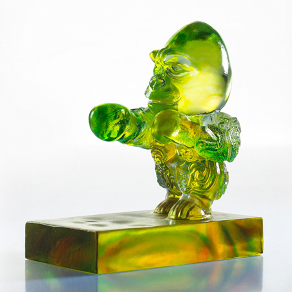 "Crystal Ape Figurine (Fight Back) - ""Strike"""
