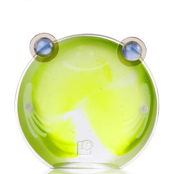 Chubby Frog - Magnetic Photo Holder - LIULI Crystal Art