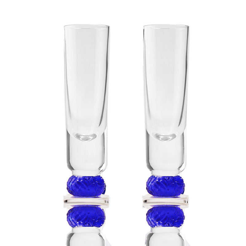 Snifter Sake Shot Glasses - Sweet Tooth (Set of 2pcs) - LIULI Crystal Art