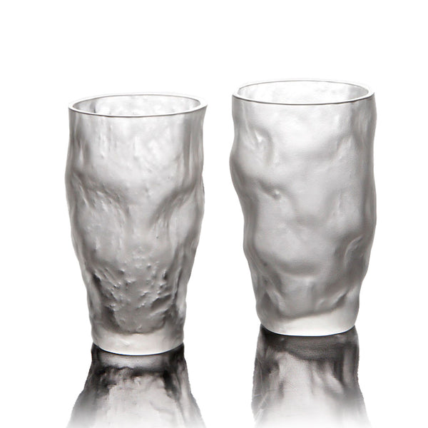 Drinkware, Glassware - Minus 4°C Stream Freeze (Set of 2) - LIULI Crystal Art
