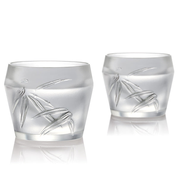 Ascent - Whiskey Glass, Snifter Glass (Set of 2) - LIULI Crystal Art
