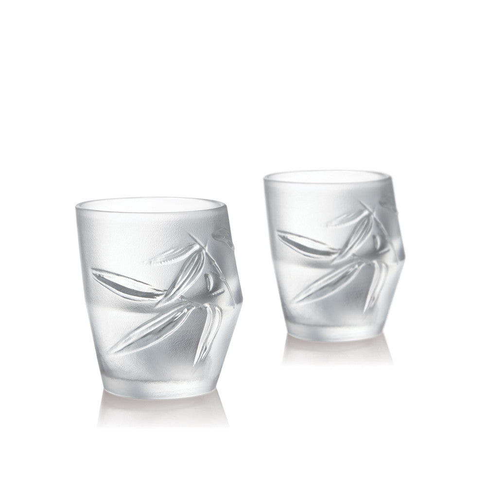 Shot Glass, Sake Glass, Ascent (Set of 2) - LIULI Crystal Art