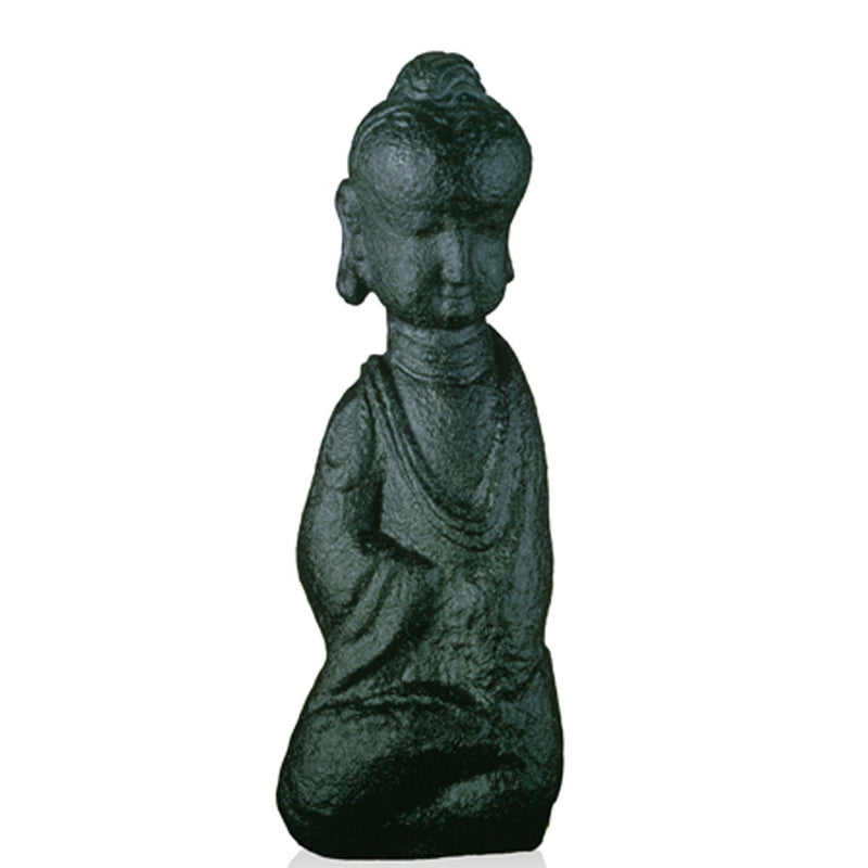 Crystal Buddha, Free Mind in Weal or Woe - LIULI Crystal Art