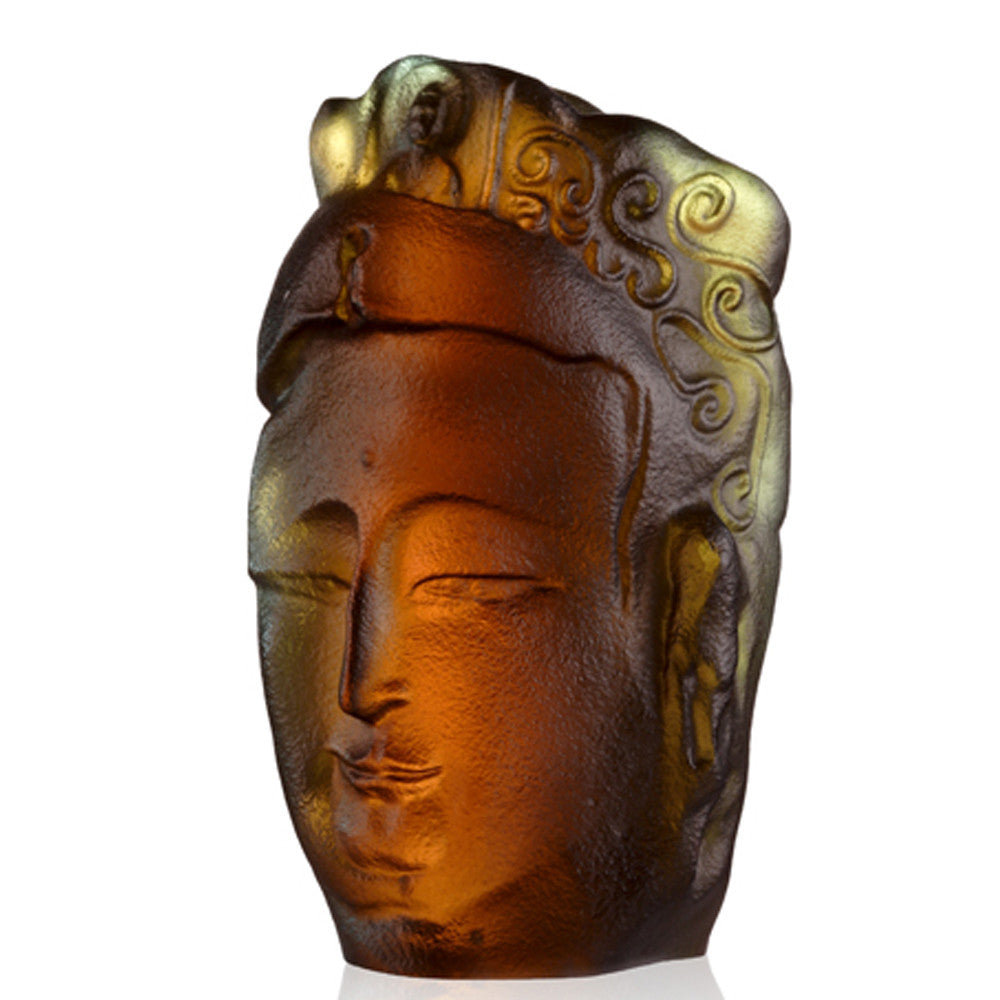 -- DELETE -- Crystal Buddha, Free Mind from Knowing Beauty Is Universal - LIULI Crystal Art