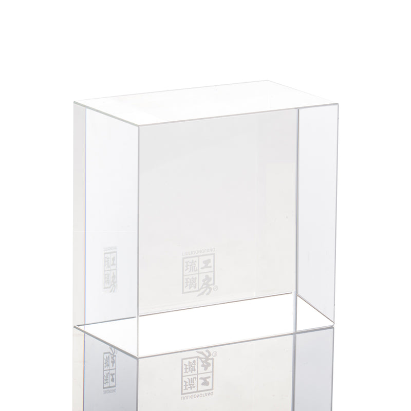 Display Base (Acrylic): 9x9x5 CM - LIULI Crystal Art