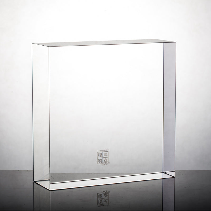 Display Base (Acrylic): 13x13x5 CM - LIULI Crystal Art
