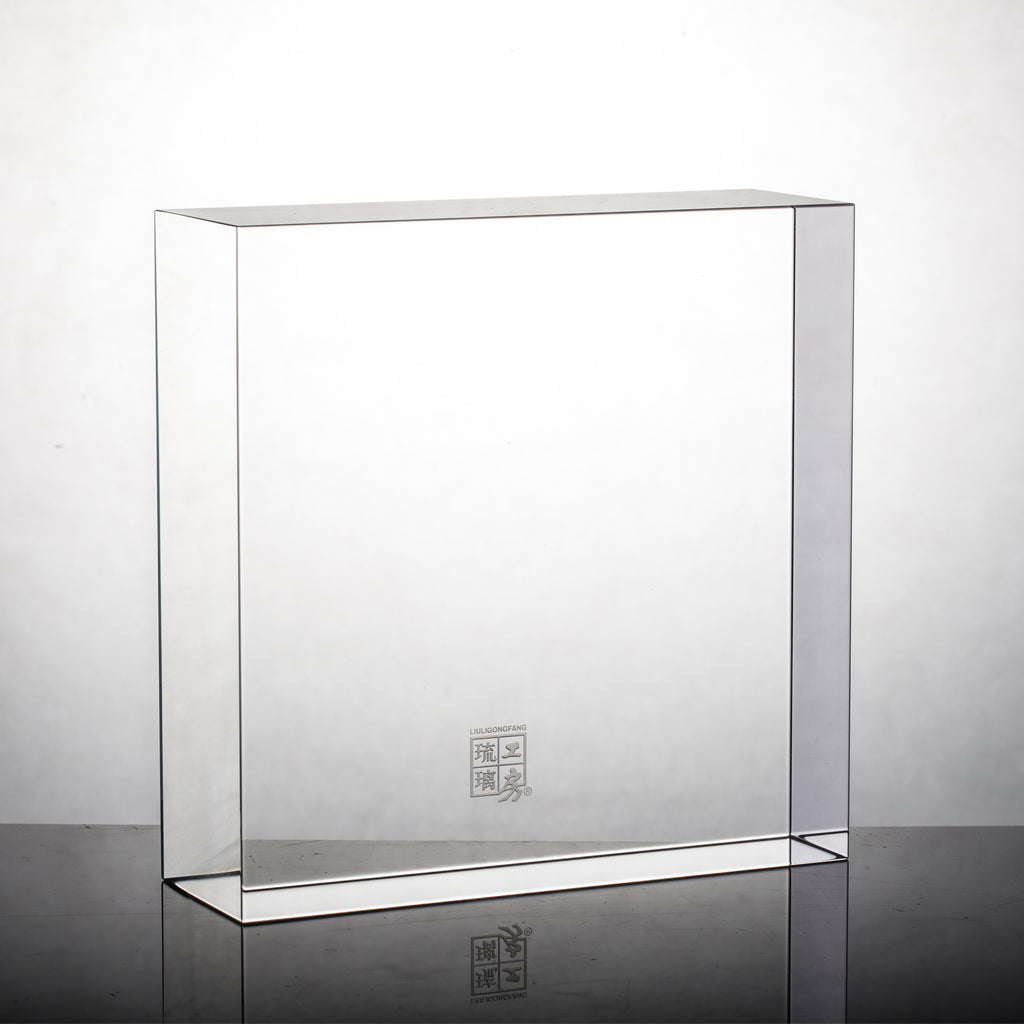 Display Base (Acrylic): 16x16x5 CM - LIULI Crystal Art