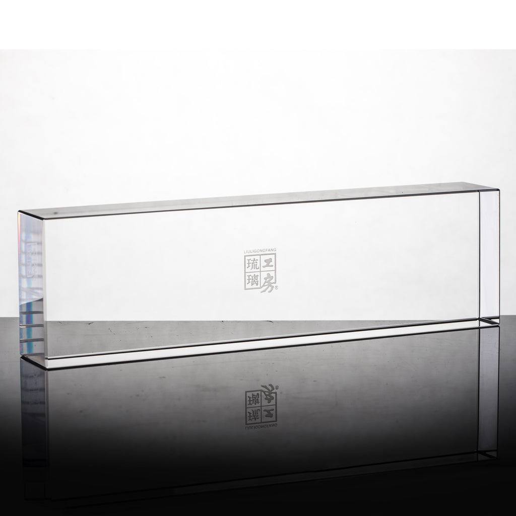 Display Base (Acrylic): 21x6x3 CM - LIULI Crystal Art