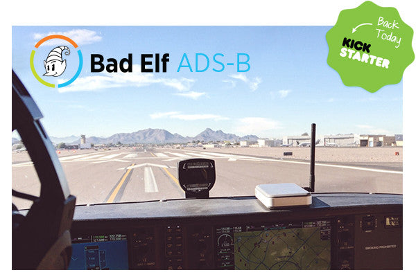 Introducing the Bad Elf ADS-B Receiver. Finally, Affordable Weather & Traffic.