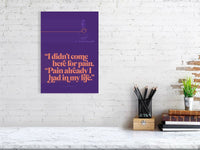I didn't come here for pain - Goenka Vipassana Daily Discourse Quote